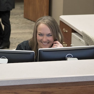 Be warmly welcomed by our front-desk team at our Norfolk Dental Clinic